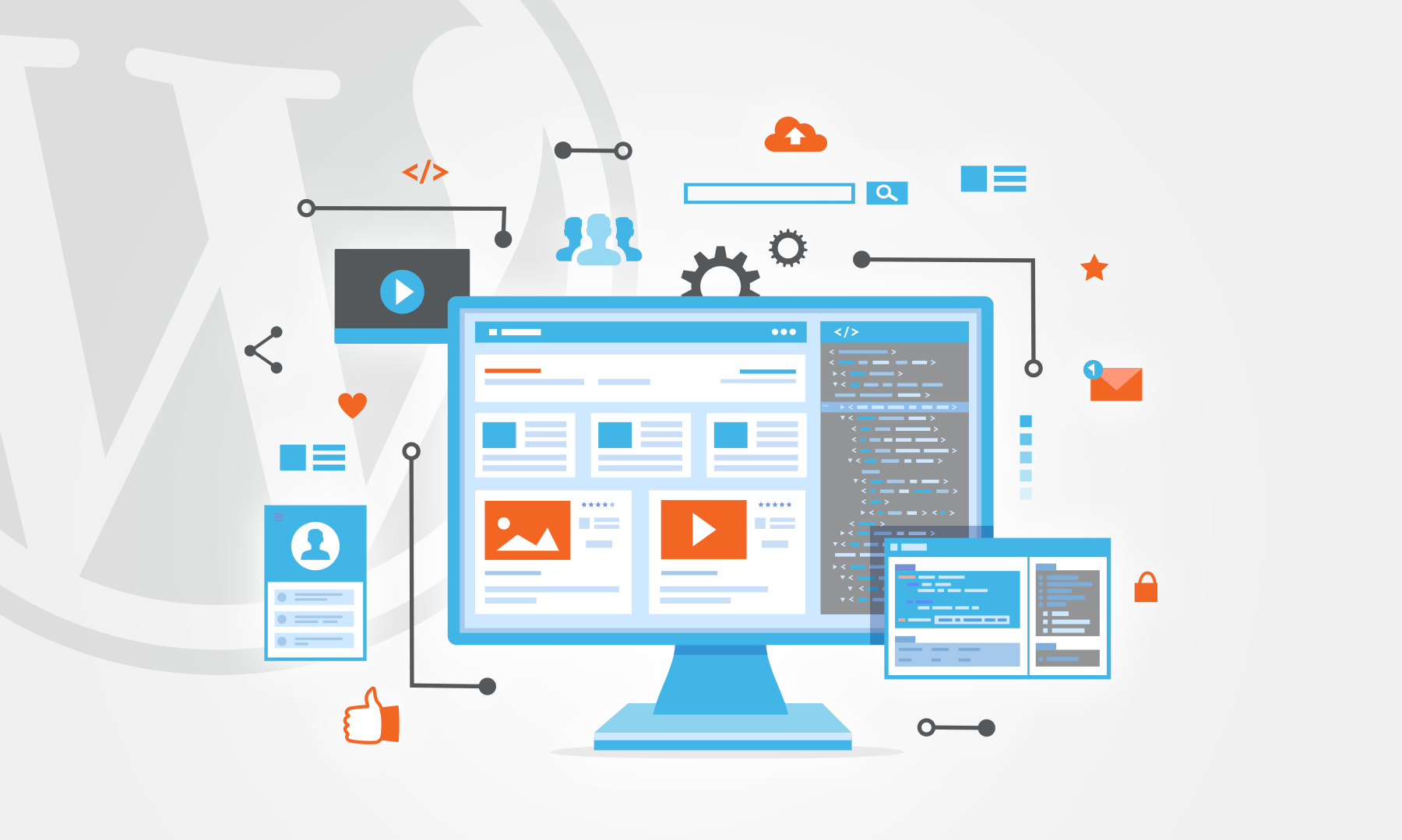 I dag skal det handle om et webbureau med over 20 dedikerede medarbejdere, som ved alt om design og tidens trends, når det kommer til at designe WordPress hjemmeside.